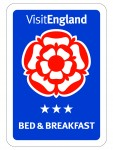 Visit England B&B 3 Stars