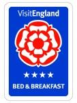 Visit England B&B 4 Stars