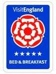 Visit England B&B 5 Stars
