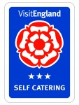 Visit England Self Catering 3 Stars