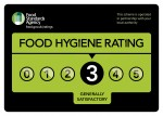 FSA Hygiene Rating 3