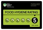 FSA Hygiene Rating 5