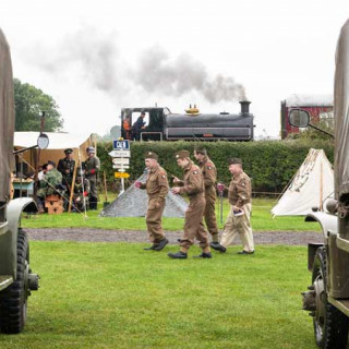 Lincolnshire Wolds Railway 1940's Weekend