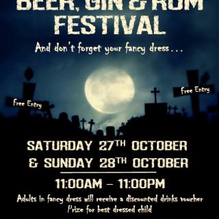 Batemans Halloween Beer, Gin and Rum Festival