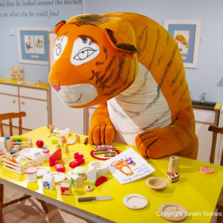 The Tiger Who Came to Tea Exhibition (Please note the exhibition is not open on Thursdays & Fridays)