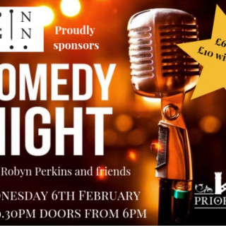 Pin Gin Presents Stand Up Comedy with Robyn Perkins & Friends