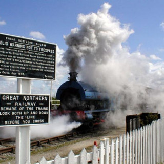 Easter Special at Lincolnshire Wolds Railway