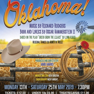 Oklahoma! (Please note there will be no performance on Sunday 19th May)