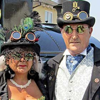 Steam Punk Weekend at Lincolnshire Wolds Railway