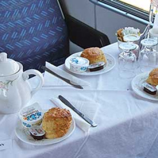 Cream Tea on the 1.45 pm Train