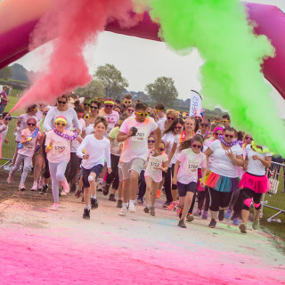 St Barnabas Hospice - The Inflatable Colour Dash
