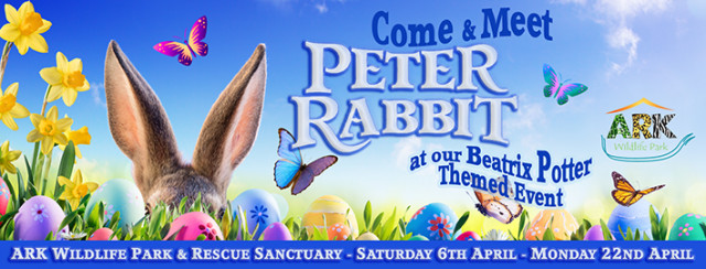 Peter Rabbit and Beatrix Potter themed event for the Easter