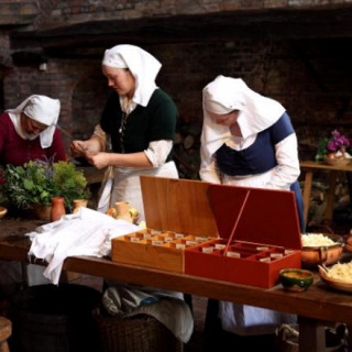 Kitchen Alive at Gainsborough Old Hall