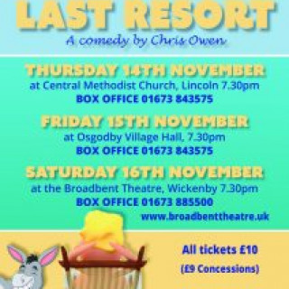 The Last Resort – a Comedy by Chris Owen