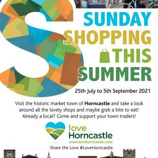 Sunday Shopping this Summer